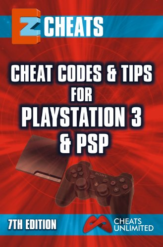 EZ Cheats - Cheat codes for Playstation 3 and PSP 7th Edition (English Edition) (Cheat Codes Für Ps3)