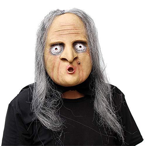 Miya Super Deluxe Neuheit Karneval Halloween Kostüm Party Maskerade Party Latex Lustige Maske Hexe