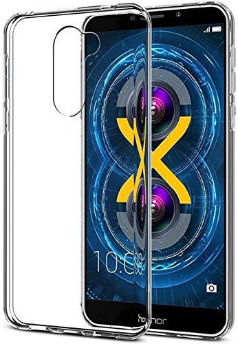 Generic Honor 6x Transparent silicon back cover