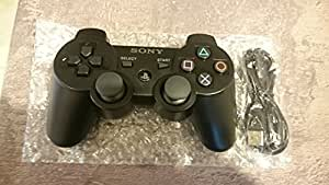 Sony - PS3 Manette Noire Sony Officielle Sixaxis Dualshock 3 - Playstation 3