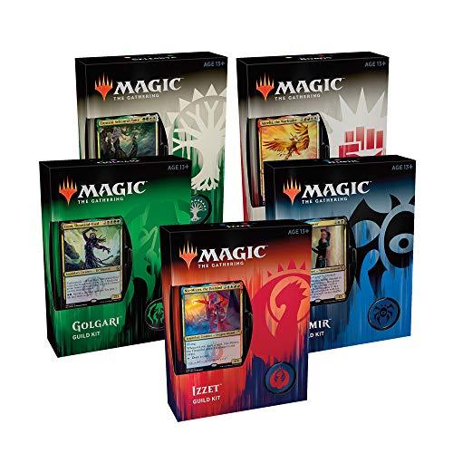 Wizards of the Coast MTG-GRG-EN Magic The Gathering Ravnica Guild Kit-Sent al Azar, Multi
