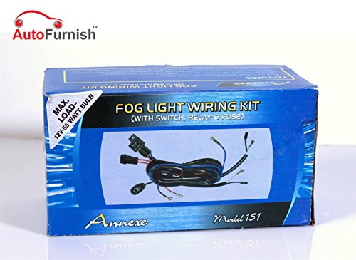 autofurnish universal fog lamp light wiring Autofurnish Universal Fog Lamp Light Wiring 51uykCpLFFL