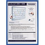 Franken - Portadocumento con cierre magnético, formato A4, color azul [1 unidad]