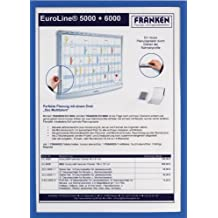 Franken ITSA3M03 - Marco magnético para carteles (DIN A3), color  azul