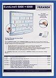 Dokumentenhalter magnetisch blau A4 5 St
