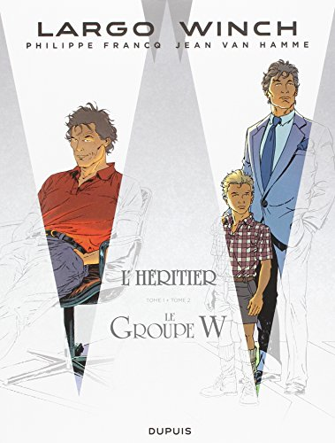 Largo Winch : Pack en 2 volumes : Tome 1, L'héritier ; Tome 2, Le groupe W