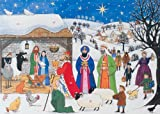 Alison Gardiner Jesus is Born Large Traditional Advent Calendar