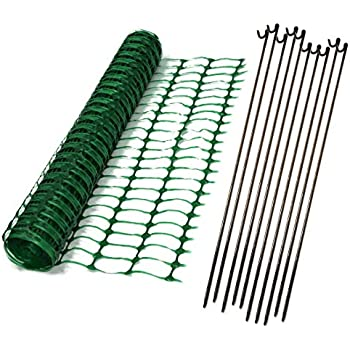 True Products Heavy Duty 7kg Green Plastic Mesh Safety