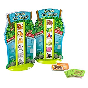Fat Brain Toys- Juego Animales Zoos on Top (1)