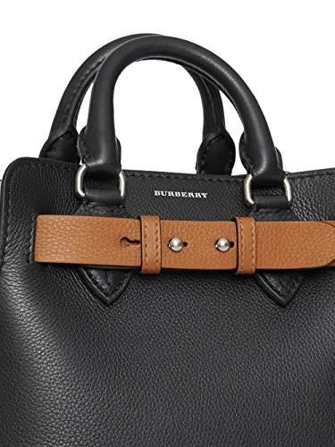 BURBERRY Damen 8006678 Schwarz Leder Handtaschen - 3