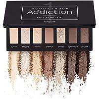 Younique Moodtruck Addiction Paleta de sombra 1 – con tonos de marrón y melocotón