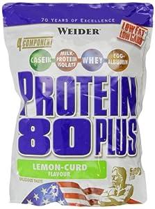 Weider 80 Plus Protein, Zitrone-Quark (1 x 500 g)