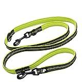 Hundekette mit Hundeleine, Hundekette, doppelköpfige Zugkraft, zum Laufen geeignet KGMYGS (Farbe : D, größe : M)