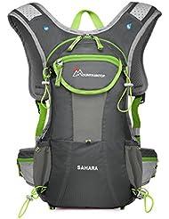 Mountaintop Mochila de Ciclismo Ligera Mochila de Hidratación para Running Bicicleta al Aire Libre 41x20.6x6 cm