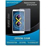 """2 x SWIDO® protecteur d'écran Honor 6X film protecteur feuille """"CrystalClear"""" invisible"""