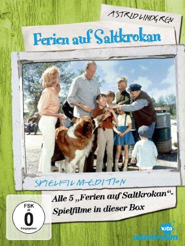 Ferien auf Saltkrokan - Teil 1-5 [5 DVDs] - Mono-bildschirm