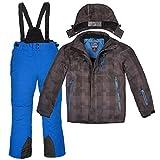 Skianzug Killtec Skifunktionsjacke Winterjacke Kariert