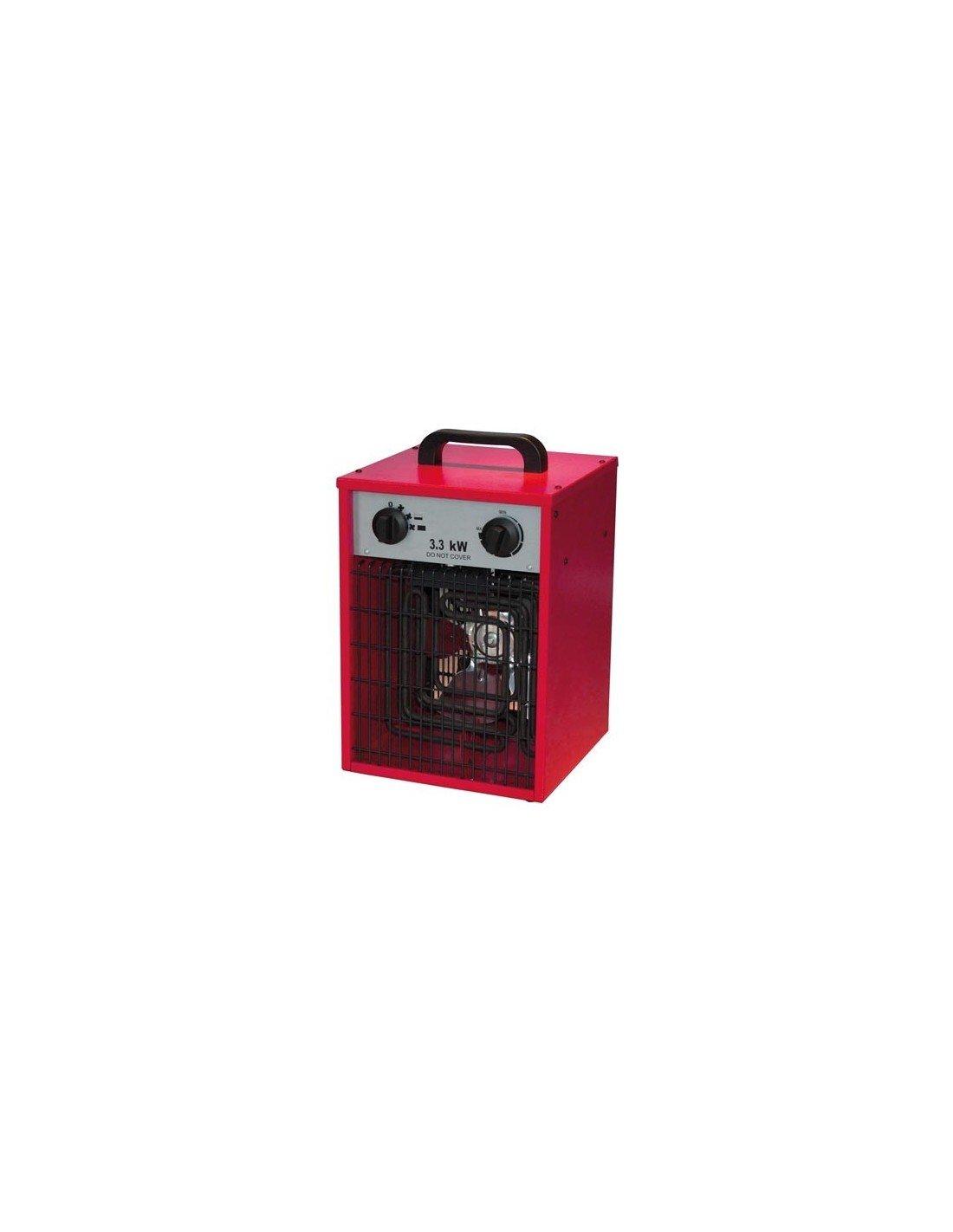 Tool País tc78070calefactor eléctrico calefactor Termoventilador Calefactor Diseño, IPX4, 3300W