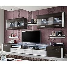 amazon.fr : meuble tv wengé - Meuble Tv Design Wenge