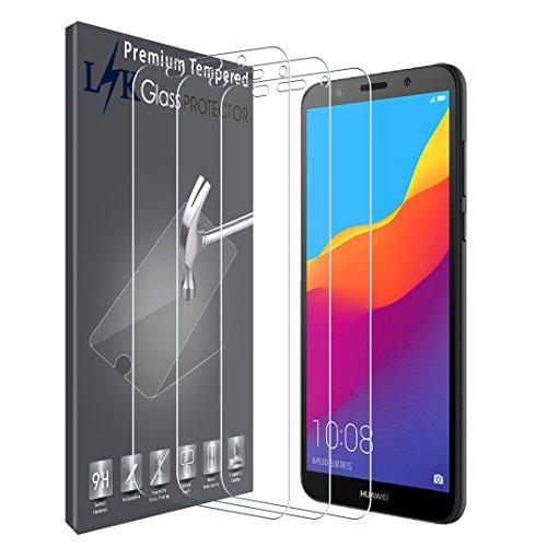 LK [3 Stück] Schutzfolie für Huawei Honor 7s / Y5 2018, Huawei Honor 7S / Y5 2018 Panzerglasfolie, Gehärtetem Glas Hartglas Bildschirmschutzfolie Bildschirmschutz Screen Protector