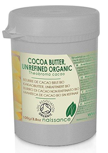 Bio Kakaobutter, unraffiniert - Organisch zertifiziert - 100g