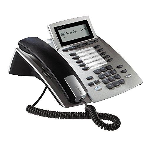 AGFEO 6101426 IP-Systemtelefon schnurgebunden ST 22 IP schwarz/silber