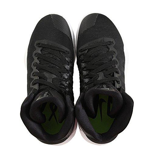 Nike Wmns Hyperdunk 2016 Tb, Chaussures de Sport-Basketball Femme Noir / Noir-blanc