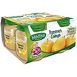 Blédina petits pots pomme coing 4x130g dès 4/6 mois - ( Prix Unitaire ) - Envoi Rapide Et Soignée