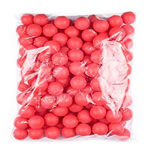 Kaiyitong01 Tischtennisbälle, Lotterie Tischtennis Farbe No Word 150 Anzahl Bälle Farbe Tischtennis Blank, kann die Anzahl der farbigen Bälle ausfüllen Mode (Color : Red)