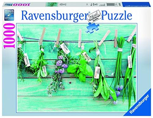 Ravensburger - Hierbas aromáticas, Rompecabezas de 1000 Piezas, 70 x 50 cm (196128)