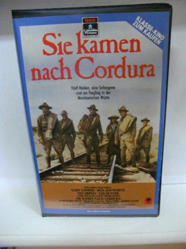 Sie kamen nach Cordura ~ Fünf Helden, eine Gefangene und ein Feigling in der Mexikanischen Wüste