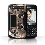 Stuff4 Hülle / Case für Blackberry Classic/Q20 / Wüstentarnung Muster / Playstation PS4 Kollektion