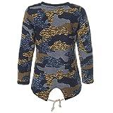 Kinder Mädchen Pullover Pulli Wende-Pailletten Sweatshirt 21546 Navy Größe 158 Vergleich