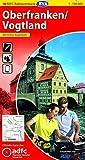 ADFC-Radtourenkarte 18 Oberfranken /Vogtland 1:150.000, reiß- und wetterfest, GPS-Tracks Download und Online-Begleitheft (ADFC-Radtourenkarte 1:150000) -