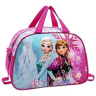 Frozen Frozen Ice Bolsa de Viaje, 24.64 Litros, Color Rosa