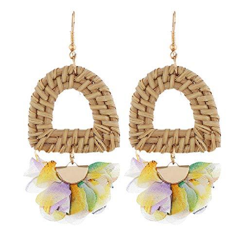 Ohrringe , Tianya☘ Fashion Shell Ohrringe Anhänger Frauen Ohrringe Einfacher Absatz Strand Wind Einfacher Schmuck Frauen (A)
