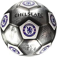 Chelsea F.C.-Fútbol signature Plata (SV) Tamaño 5