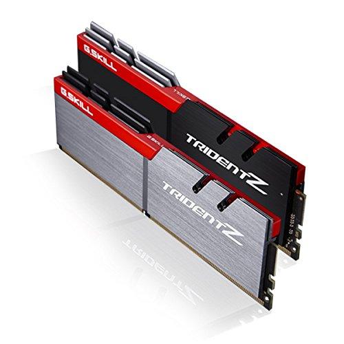 G. Skill F4–4266C19d-16gtza Trident Z Serie 16GB (8GB X 2) DDR44266MHz Dual Channel Arbeitsspeicher-Kit–Silber/Schwarz (Körper Sleeks-unterstützung)