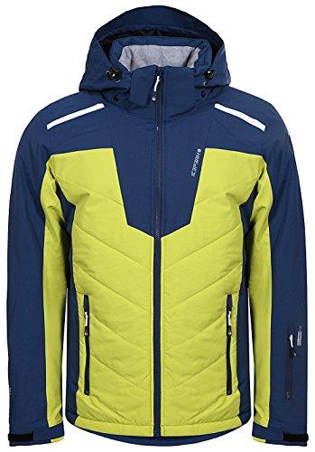 Icepeak Herren Skijacke Winterjacke Neville 8 56 119 839, Farbe:Mehrfarbig, Größe:M, Artikel:-365