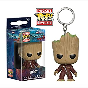 FunKo Pocket POP Keychain Marvel Guardians OT Galaxy 2 Ravager Groot