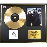 Coldplay/marco Disco de Oro/Vinilo, fotos y libro/Edición limitada/certificado de Authenticite/A Rush of Blood to the Head