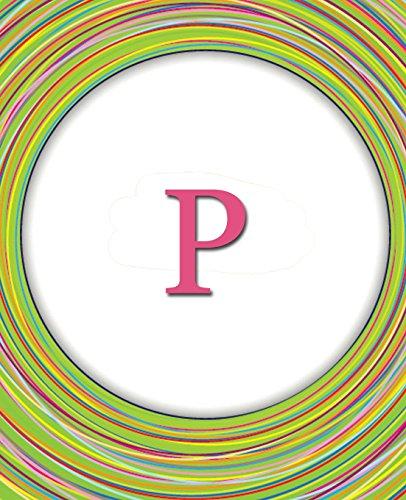 Circles Monogram Notebook P