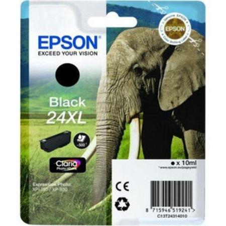 Epson 24XL (T243140) Schwarz kompatible Tintenpatrone mit hoher Kapazität - Epson Toner Mit Hoher Kapazität