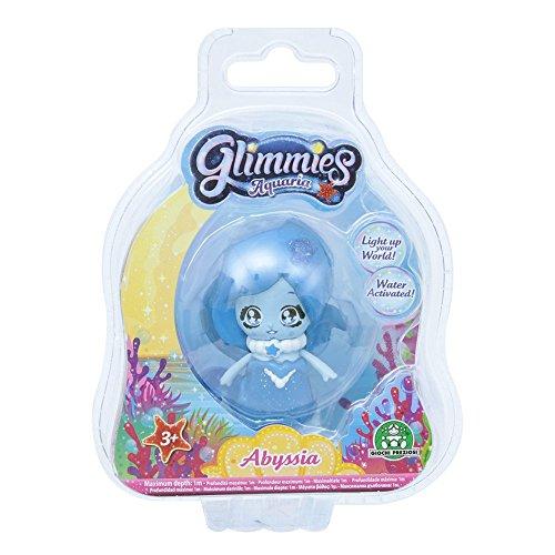 Glimmies 70040031 Aquaria Fee 6cm Abyssia Minipuppen mit Leuchtfunktion
