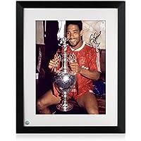 E John Barnes cornice Firmato Liverpool Foto: Tenere il campionato
