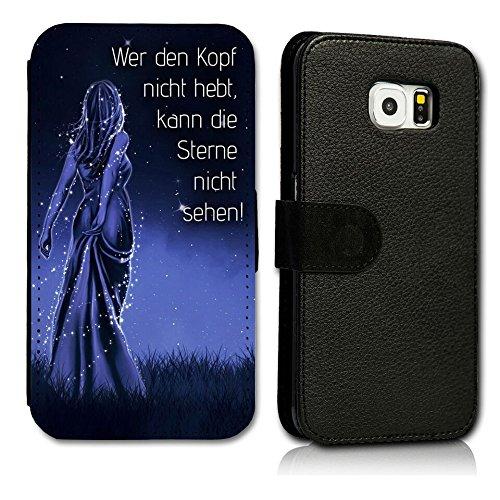 Book Style Handy Tasche - Design WD166 - kompatibel mit HTC Desire 626G - Cover Case Schutz Hülle Etui Schutzhülle