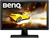BenQ RL2455HM 24 inch Gaming Monitor (for Console e-Sports, 1 ms Response Time, Black eQualiser, Flicker-free, HDMI x 2, Built-in Speakers) - Black