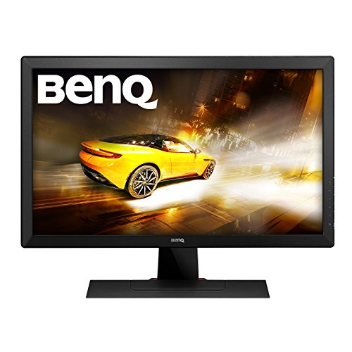 BenQ RL2455HM 24 inch Gaming Monitor (for Console e-Sports, 1 ms Response Time, Black eQualiser, Flicker-free, RTS Mode, HDMI x 2, Built-in Speakers) - Black