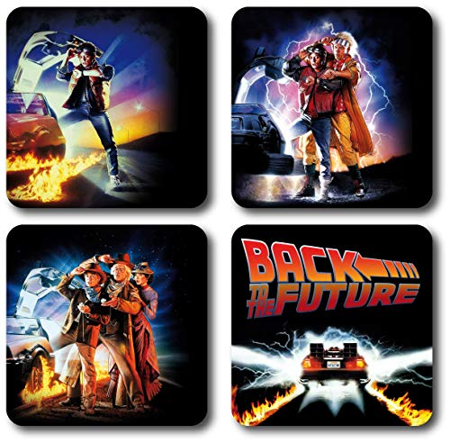 Back To The Future 4 Piece Coaster Set