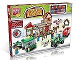 Block Tech Down On The Farm Country Farmyard 519 Pieces Kids Boys Girls Building Block Bricks Set 6+